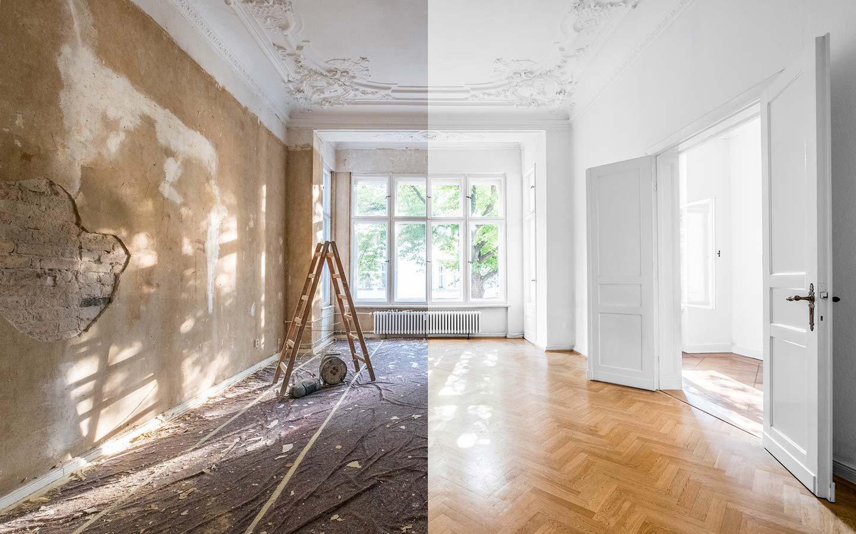 Sanierung, Altbausanierung, Renovierung, Modernisierung und Trockenbau
