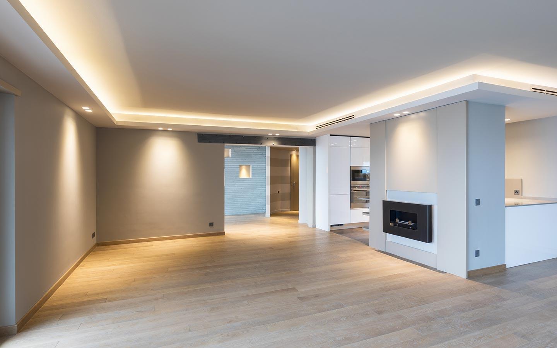 Modernisierung Hamburg, Wohn- und Kochbereich