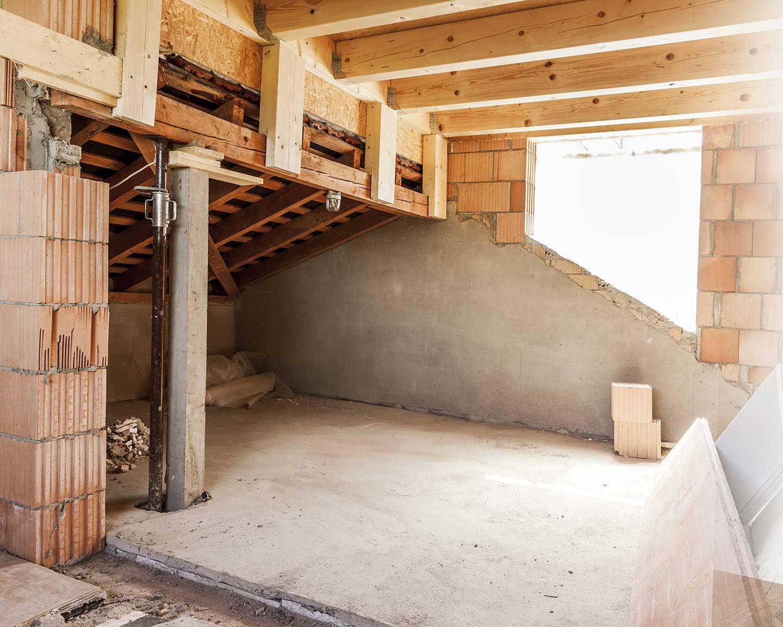 Sanierung Hamburg, Sanierung Dachgeschoss