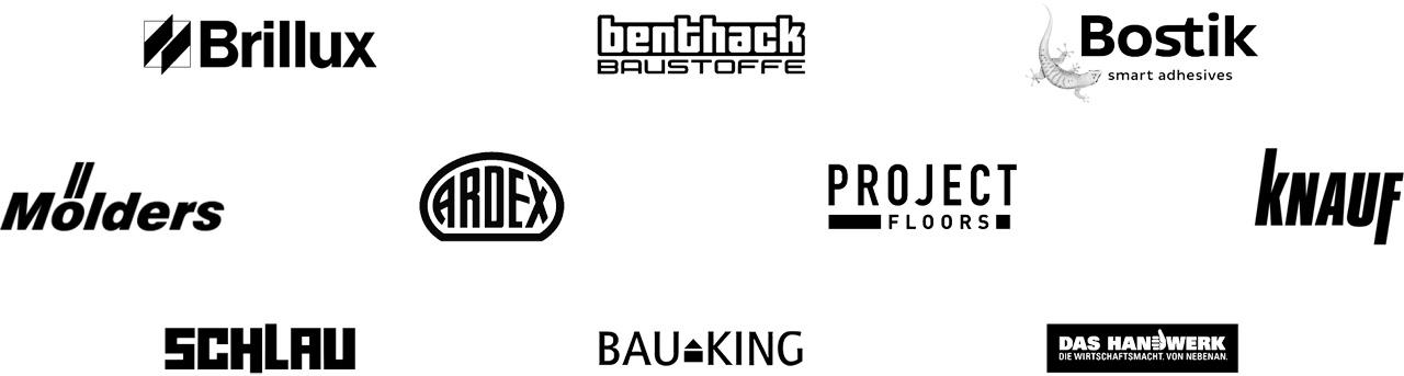 Partnerlogos von Baudesign Hamburg